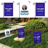 Hot Donald Trump Garden Flag Keep Make America Great Again For 2020 President