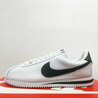 White/MetallicSilver/Black Men Shoe Cortez Basic Size 11 New 819719-100 Medium