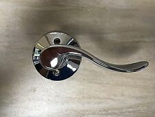 Schlage F170 Acc 625 Lh Accent Bright Chrome Left-Handed Dummy Lever