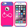 For iPhone X SE 5s 6 6s 7 8 Plus Shockproof Case Infinity Love Cross Christian