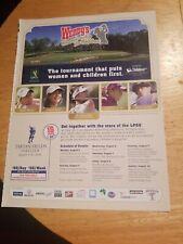 2003 print ad-Wendy's Championship for Children-Golf-Mi Hyun Kim-Beth Bauer +