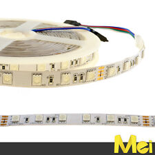 Striscia LED RGB 24V 300 smd 5050  IP20 5MT 72W professionale