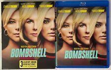BOMBSHELL BLU RAY DVD 2 DISC SET + SLIPCOVER SLEEVE FREE WORLD WDID SHIPPING BUY