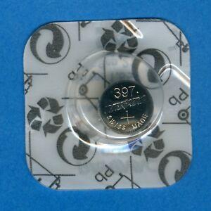 10 x 397 ( 396 ) SR726SW V397 D397 SR59 1.55V Silver Oxide Watch Battery Rayovac
