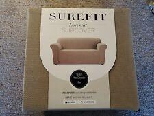 Stretch Mini Chevron Box Cushion Loveseat Slipcover