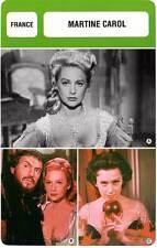 FICHE CINEMA :  MARTINE CAROL (Mod. B) -  France (Biographie/Filmographie)