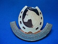 TRANSKEI SOUTH AFRICA AFRICAN MOUNTED BATALLION MILITARY CAPE VINTAGE BADGE 60mm