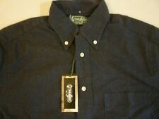 GITMAN BROS VINTAGE Navy Classic Flannel New With Tags $180 S Made In USA