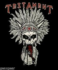 TESTAMENT cd lgo NATIVE BLOOD Official SHIRT MED New dark roots of earth
