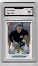 Aaron Judge RC 2014 Bowman #TP-39 GMA Graded 10 NY Yankees Baseball Rookie ROY