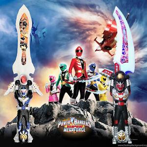 60CM Power Rangers Deluxe Knight Saban's Action Figure Light Sound Sword Loud Gl