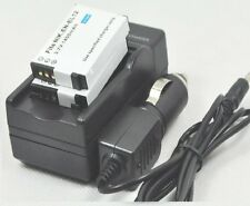 new 2pcs Battery and Charger EN-EL12 for Coolpix S8200 S9050 S6000 S8200 AW110s