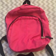 Mini Backpack Purse Bag Small Sized Pink Adjustable Straps Girls Teens B1