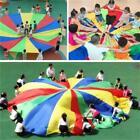 8 Handles 2M Kid Child Play Rainbow Umbrella Parachute Sports Outdoor Game MP
