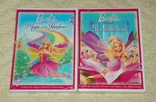 Barbie Presents: Thumbelina & Barbie - Magic of the Rainbow (2 DVD Lot)