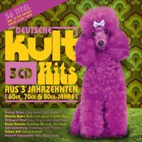 DEUTSCHE KULTHITS AUS 3 JAHRZEHNTEN  3 CD NEU