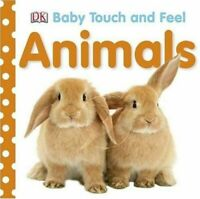 Baby Touch And Feel Animals Dk Board Book NEW