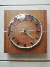 JUNGHANS - Wanduhr - ato-mat  - Wall Clock - Optisch Guter Zustand - 60er Jahre