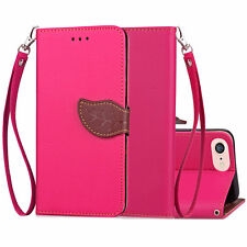 Kickstand Wallet Leather Flip Card Case Soft TPU Back Cover For iPhone 5 5s SE