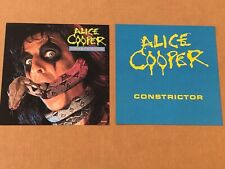 Alice Cooper Constrictor Poster Flat Album Lp Record Cooperstown Poison Snake
