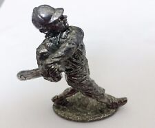 Pewter Figurine - #3 Baseball Batter - 2.5 inches tall