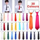 Kids Boys Children Wedding Party Elasticated Tied Neck Pre Ties tuxedo Kid tie