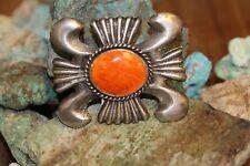 Sterling,Spiny Oyster, Signed:Chimney Butte #Vintage #Chimney Butte Belt Buckle,