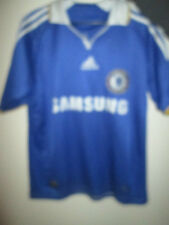 "Chelsea 2009-2010 Home Football Shirt Size kids Large Boys  /34968 32""-34"""