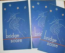 Vtg Gulf Fuel Oil  Advertising Gift Promotion 3 Bridge Tallies Great Graphics