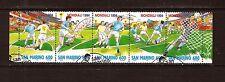 SAN MARINO Bande 5 Timbres  N°1307 Le mondial football 1994 241M-C43
