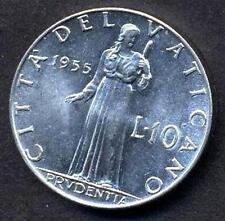 VATICANO PIO XII  10 Lire 1955  q.FDC ( A/UNC)