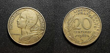 Vème République - 20 centimes Lagriffoul 1962 - F.156/2
