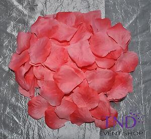 600 PCS FLOWER ROSE PETALS WEDDING PARTY TABLE DECORATION FLORAL CONFETTI