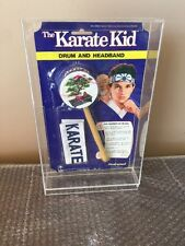 1986 Fleetwood The Karate Kid Drum And Headband Columbia Pictures Mr Miyagi