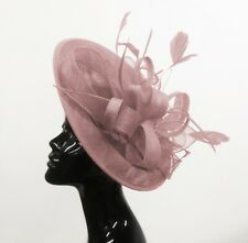 8ab5b1e6c115a Sinamay Wedding PINK Fascinators & Headpieces for Women for sale   eBay