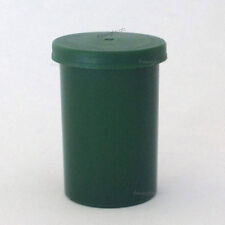 30x Film canisters, containers, pots, tubs with lids Green craft storage box