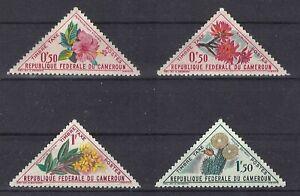 Kamerun, 1963, postfr., Blumen