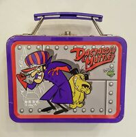 Dastardly & Muttley Mini Lunchbox Wacky Races Metal Tin Box 1999 Cartoon Network