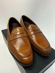 Allen Edmonds SFO Dress Loafer Walnut Shoes Size 10.5 DS08