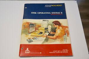 Atari 400/800 Disk Operating System II Manual (anglais)