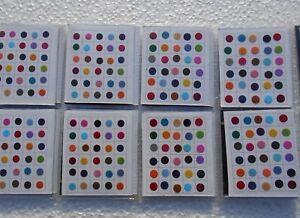 12 Packet  Multi Color Size Indian Bindi Round Dots Tattoo Body Art Sticker