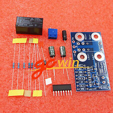 Dual 2 channel Speaker Protection Board UPC1237 DIY Kit Boot Delay DC Protection