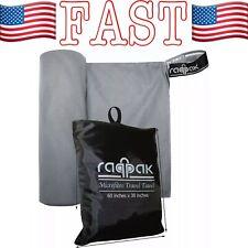 "X Large 60"" x 30"" Light Microfibre Towel for Sports Gym Beach Swimming Yoga Bath"