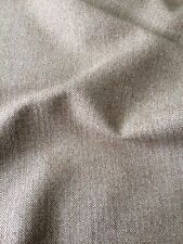 HOLLAND AND SHERRY Wool Herringbone brown tan tailored woven 4+ yards