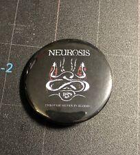"""Neurosis Through Silver 1.5"""" Button N001B15 Isis Swans Amebix"""