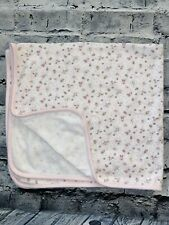 First Impressions Pink Baby Blanket Toys Sparkle Baby Girl 6-9 Months Cotton