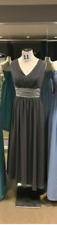 Designer Party Formal Dress in Charcoal Size 18 Brand New With Tag