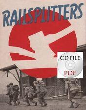CD File 84th Infantry Division Booklet  + 3x The Railsplitter 1945 771 Tnk Batt