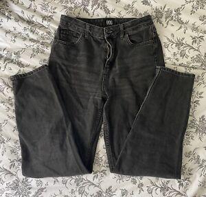 BDG Mom Jeans Washed Black W29 L32