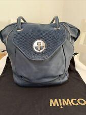Mimco Molten Tote Bag (Indigo)